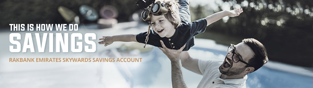 RAKBANK Emirates Skywards Savings Account