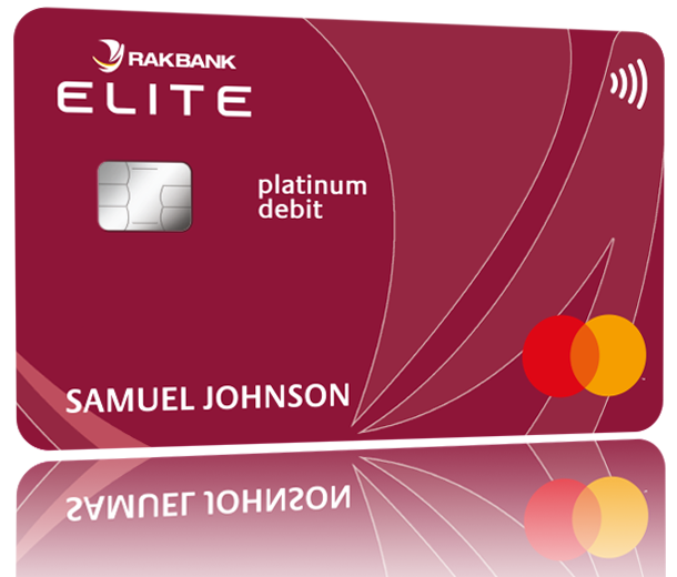 RAKelite Platinum Debit Card