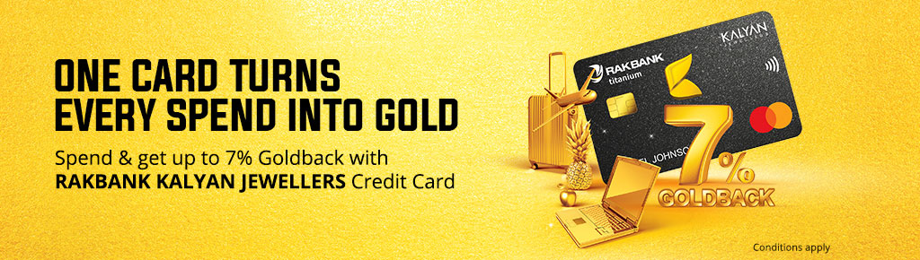 Rakbank Kalyan Jewellers Credit Card The Era Of Goldback