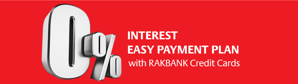 0% Easy Payment Plan with RAKBANK