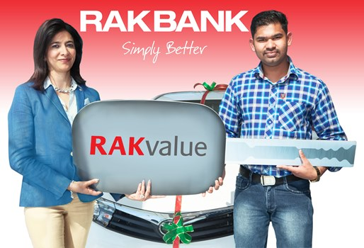 More RAKvalue with Car Prize Promotion