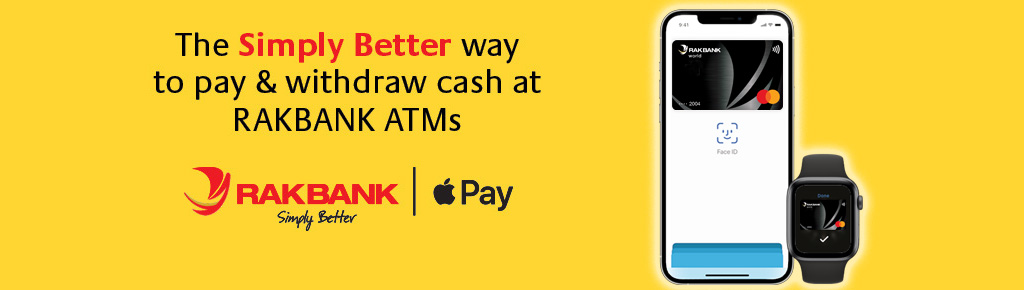 Apple Pay | Make payments with your RAKBANK Mastercard using