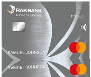 Rakbank credit cards personal credit cards dubai uae titanium business credit card reheart Images